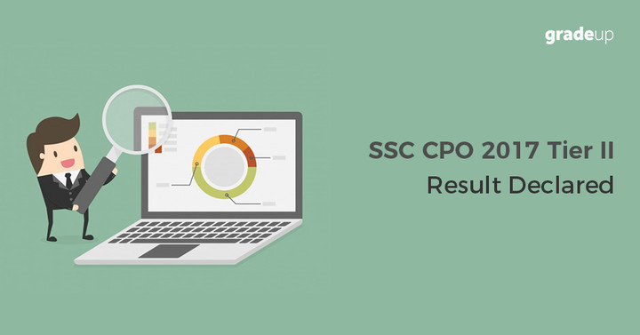 SSC CPO Tier 2 Result 2017 Out, Check SSC CPO Mains Result Here!