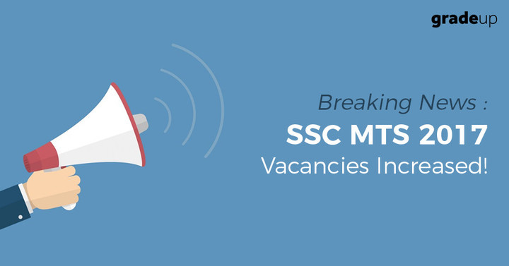 SSC MTS Vacancy 2017 Increased, Check State Wise Vacancies List!