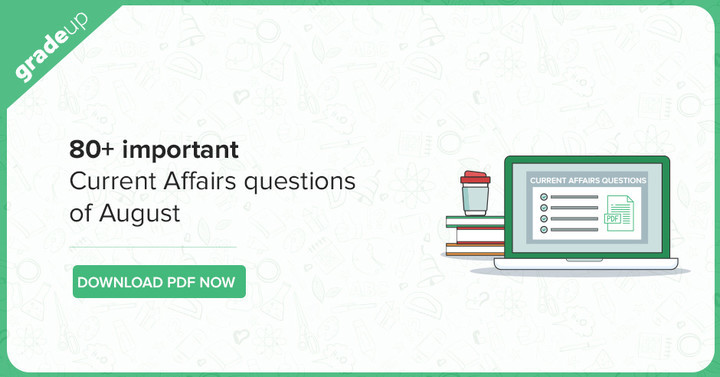August Current Affairs Pdf