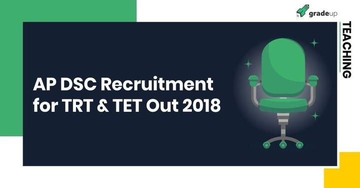 AP DSC Notification 2018 (TRT): Exam Date, Vacancy, Apply Online!