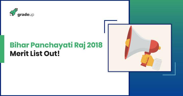 Bihar PRD Merit List 2018, Check Lekhpal & Technical Asst  Merit List