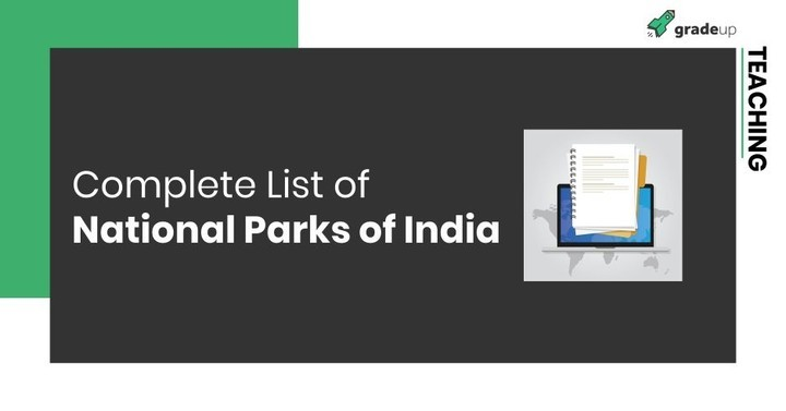 Complete List of National Parks of India