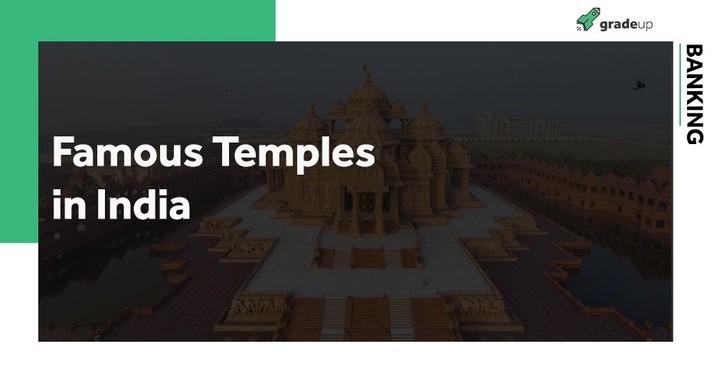 नदियों के साथ भारत में प्रसिद्ध मंदिर