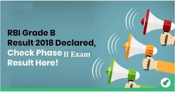 RBI Grade B Result 2018 Out, Check RBI Grade B Phase II Result Here!