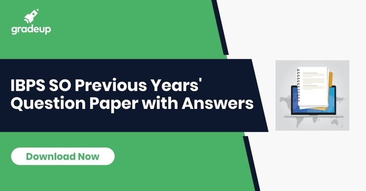 IBPS SO Question Paper with Answers (Hindi/English), Download PDF!