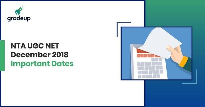 NTA UGC NET December 2018 Exam Date: Check Important Dates
