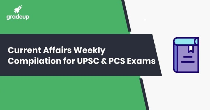Latest Weekly Current Affairs 2018-19: UPSC, UPPSC, BPSC, MPPSC Exams