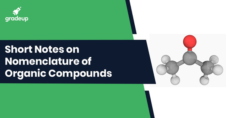 Nomenclature of Organic Compounds Notes for IIT JEE, Download PDF!