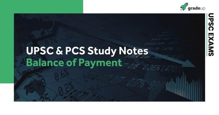 Balance of Payment 2018 Notes: for UPSC and PCS