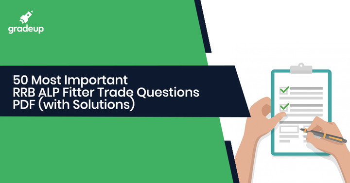 50 Most Important RRB ALP Fitter Trade Questions PDF