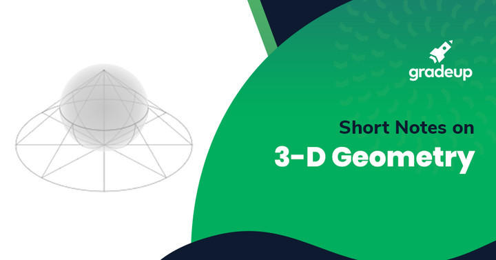 3D Geometry Notes for IIT JEE, Download PDF