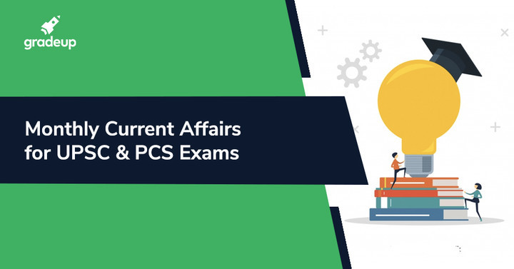 Monthly Current Affairs Compilation for UPSC & Other PCS Exams PDF