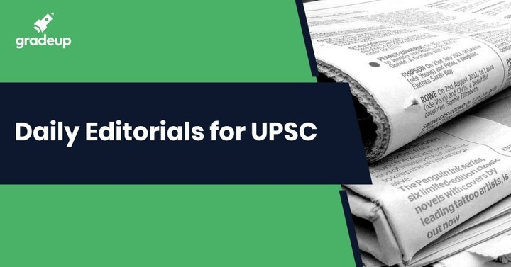 Daily Editorials for UPSC: 01.12.2018