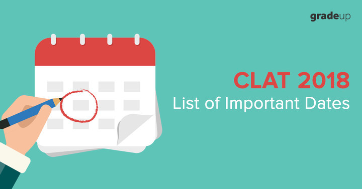 CLAT Exam Dates 2018 - Check Full Calendar & Other Important Dates
