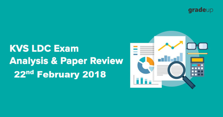 KVS LDC Exam Review & Analysis: 22nd February 2018