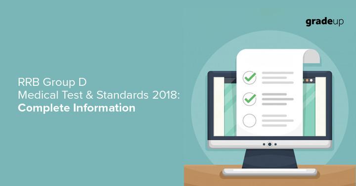 RRB Group D 2018 Medical Test & Eye Standards, Check Complete details!