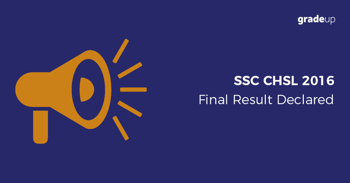 SSC CHSL Final Result 2016 Declared, Check Your Result Here!