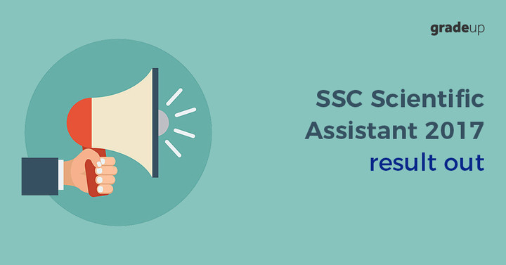 SSC Scientific Assistant Result 2017 Out, Check SSC IMD Result Here!
