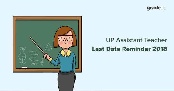 UP Assistant Teacher Last Date Reminder 2018