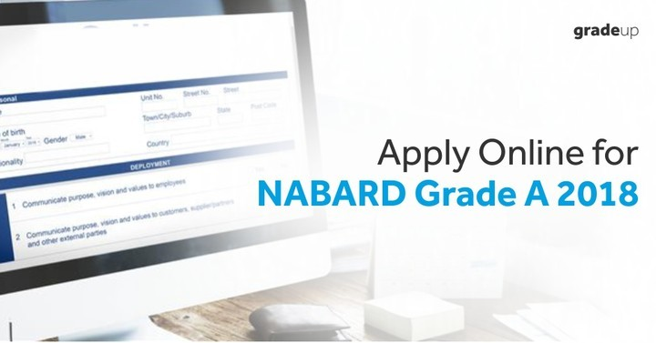 NABARD Grade A Apply Online 2018: Assistant Manager Application Form