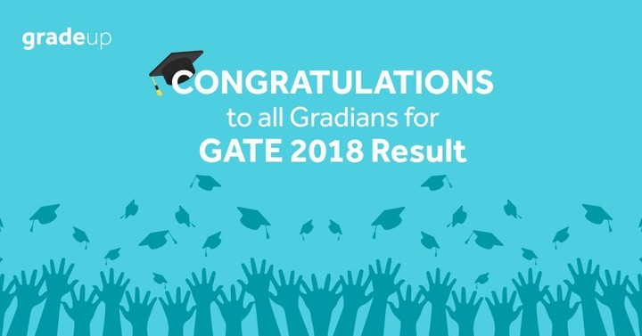 Heartiest Congratulations for GATE 2018 Result