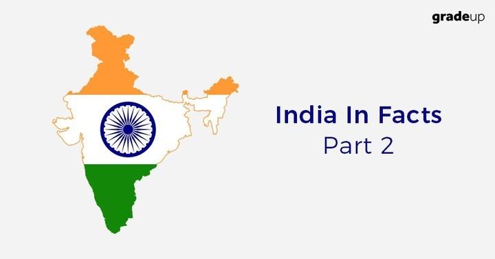 स्टेटिक जीके- तथ्यों में भारत: भाग 2