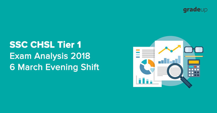SSC CHSL Tier 1 Exam Analysis 2018: 6 March Evening Shift