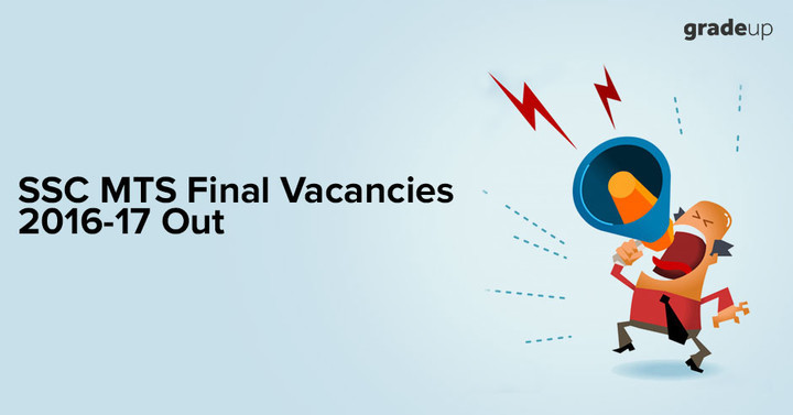 SSC MTS Final Vacancies 2016 Out, Check State-wise Vacancy List Here!