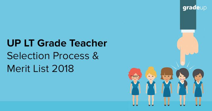 उत्तर प्रदेश एलटी ग्रेड शिक्षक चयन प्रक्रिया और मेरिट सूची 2018