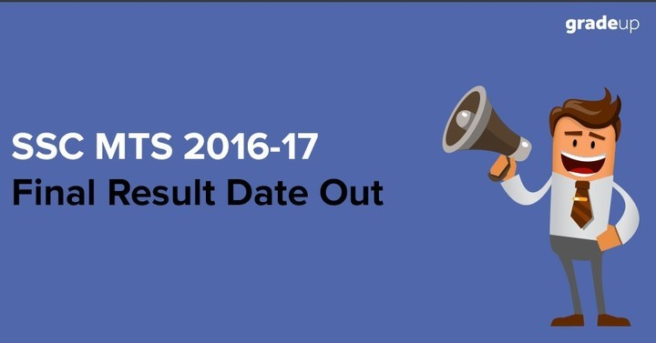 SSC MTS 2016-17 Final Result Date Changed: Check Now