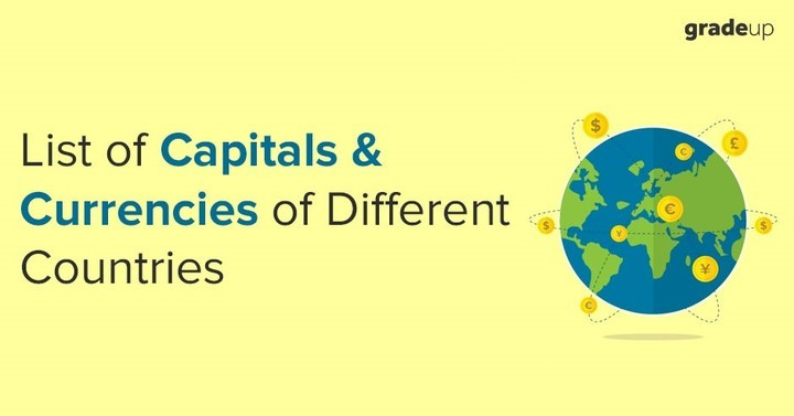 Static GK Notes for RRB Group D & ALP Exam 2018: Countries, Capitals & Currencies