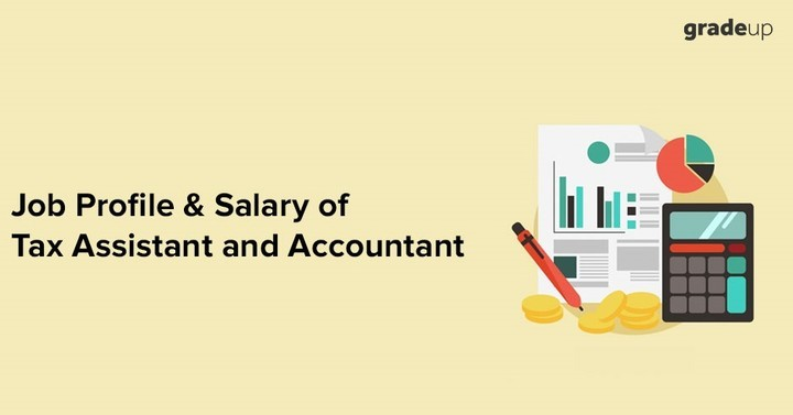 Job Profile & Salary of Tax Assistant and Accountant