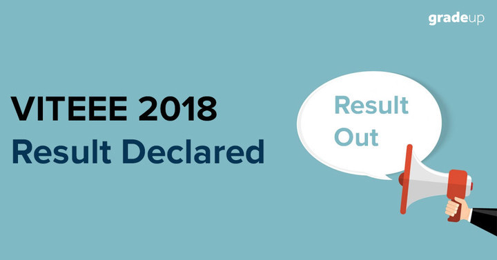 VITEEE 2018 Result Declared on VIT - Check Result from Activated Link
