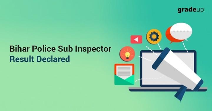 Bihar Police SI Mains Result 2018 Out, Download Bihar Daroga Result PDF!
