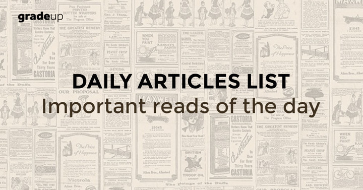 Daily Reading List: 28.05.2018