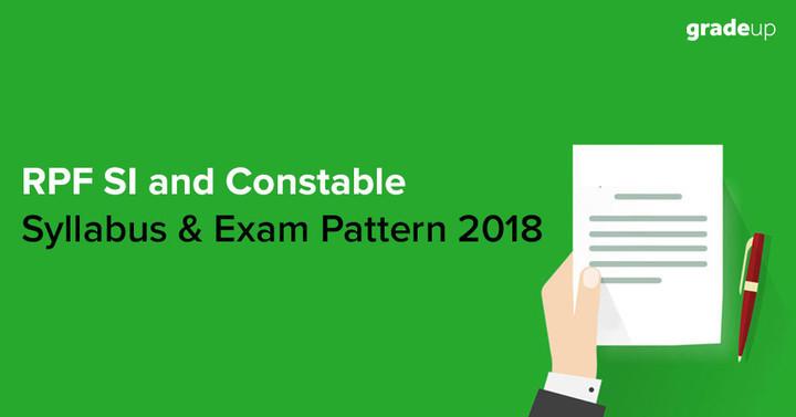 RPF Syllabus & Exam Pattern for Constable & SI 2018 (Hindi