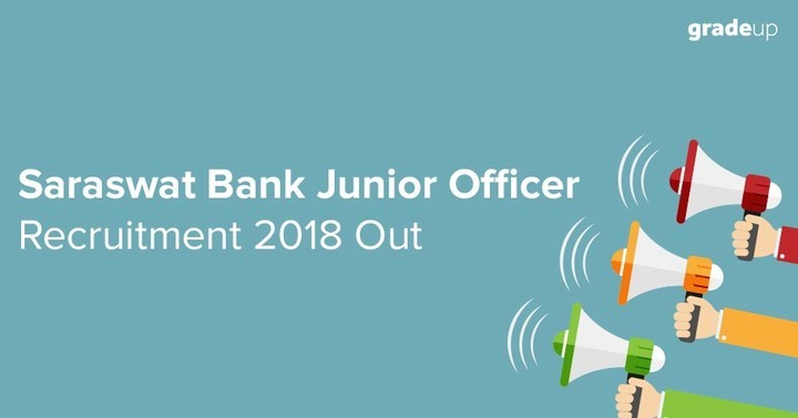 Saraswat Bank Recruitment 2018 for 300 Jr Officer Vacancy, Apply Online Now!