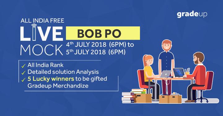 BOB PO 2018 AIFM- 4th July To 5th July (6 PM to 6 PM)