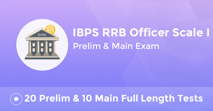 IBPS RRB Officer Scale I Combo Test Series