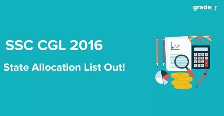 SSC CGL 2016 State Allocation List - Download Here!