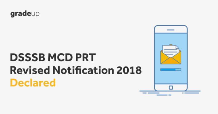 DSSSB 2018 Recruitment Notification for 4366 Delhi PRT Teachers Vacancies