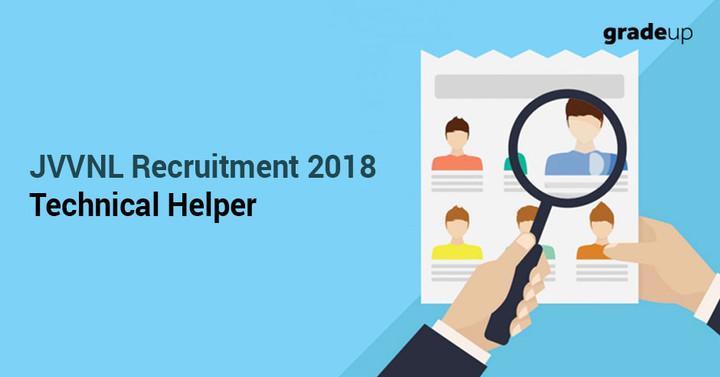JVVNL Technical Helper Recruitment 2018 for 2433 Vacancies, Apply