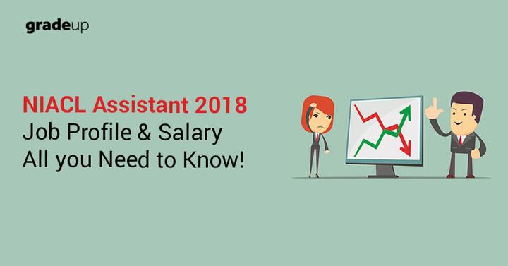 NIACL सहायक परीक्षा 2018 के वेतन और जॉब प्रोफाइल की संपूर्ण जानकारी