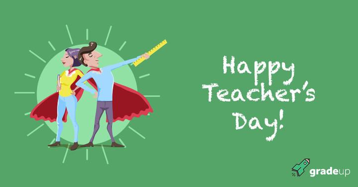 5th September: Happy Teacher's Day