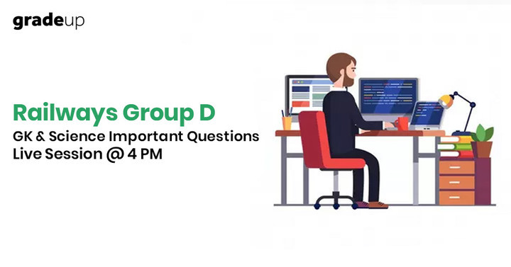 Railways Group D Questions & Answers Youtube Live Session @ 4:00 PM