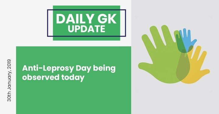 डेली जी.के. अपडेट 30 जनवरी, 2019