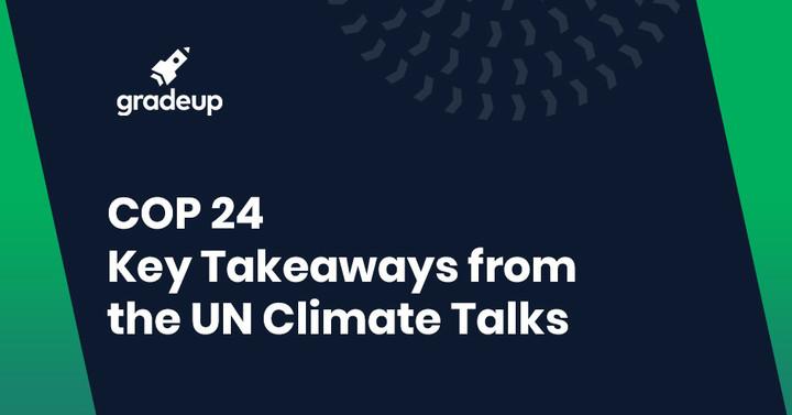 Katowice Climate Change Conference - UNFCCC COP 24