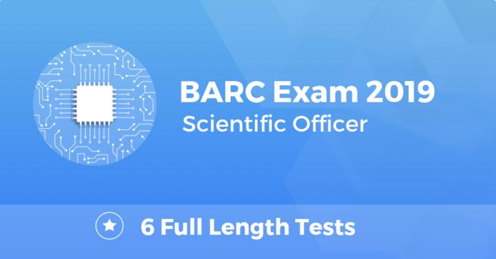 BARC Scientific Officer 2019 EE Online Test Series