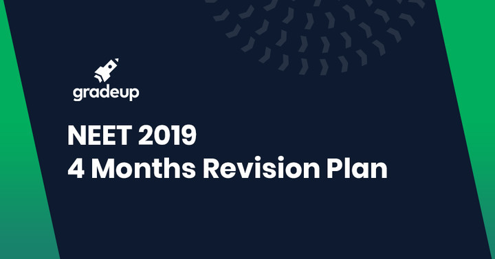 4 Months Revision Plan for NEET 2019