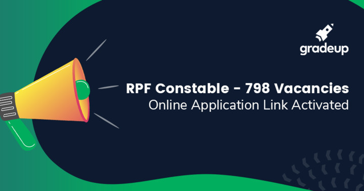 RPF Ancillary Recruitment 2019: 798 Constable Vacancies